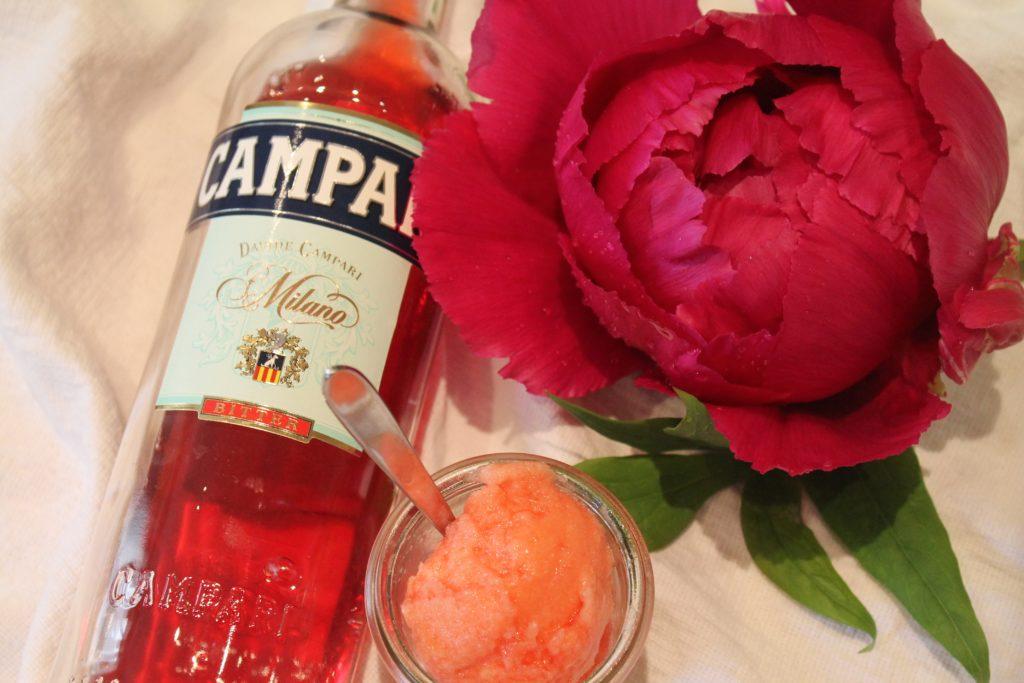 Grapefruit-Campari-Sorbet