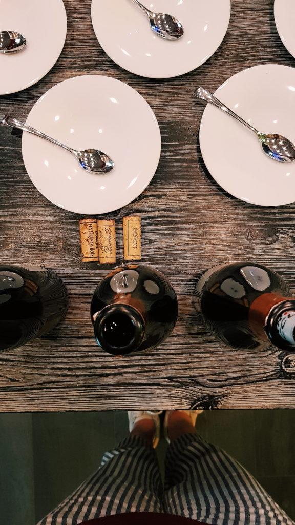 Dinner in Rasteau - Cote Cour