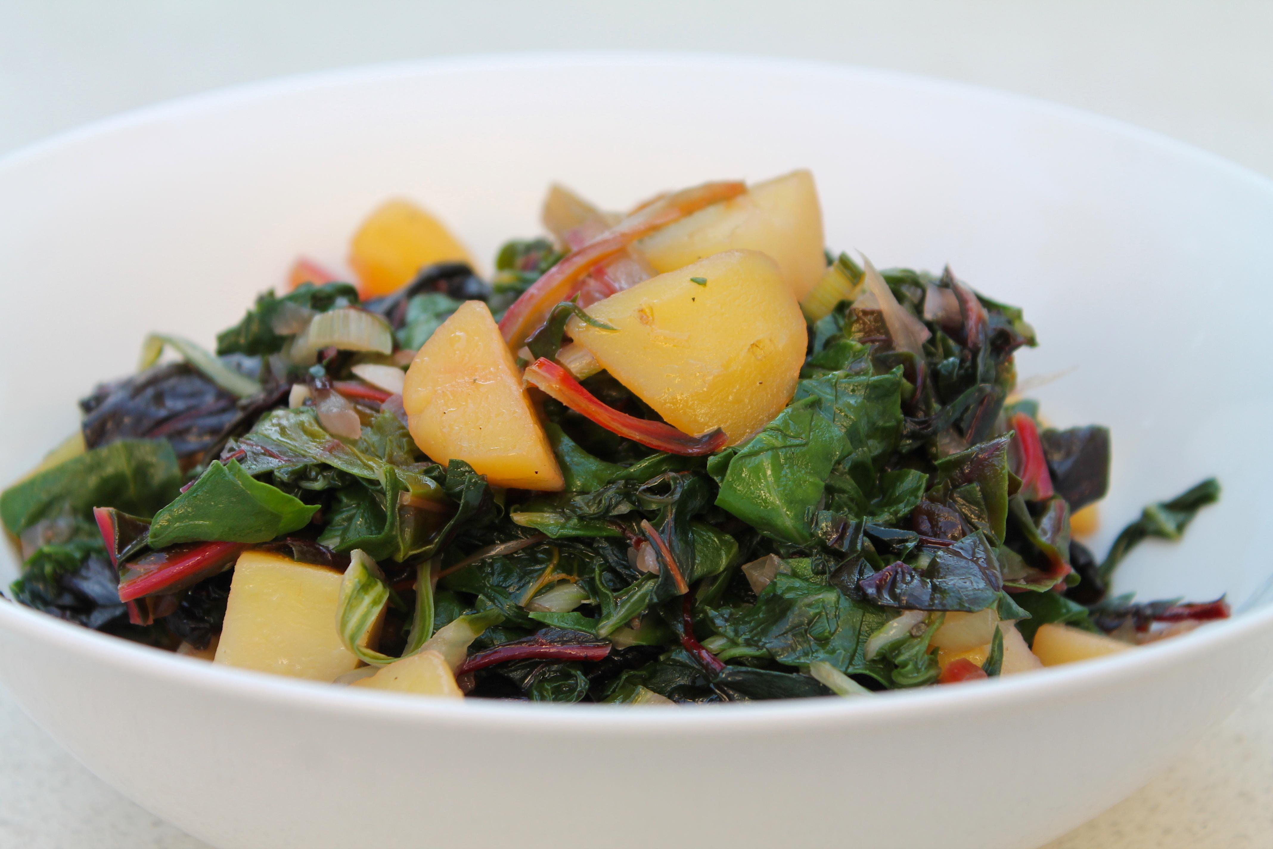 Blitva - Mangold und Kartoffeln